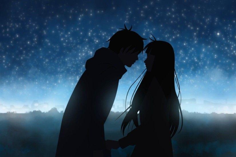 Cute Anime Couple Wallpaper Wallpapertag