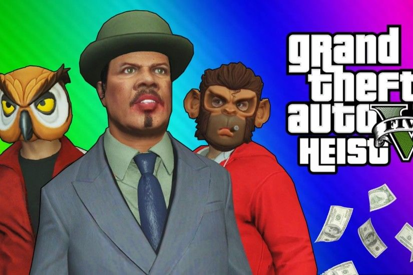 GTA 5 Heists #2 - Nogla's Outfits & Epic Car Chase! (GTA 5