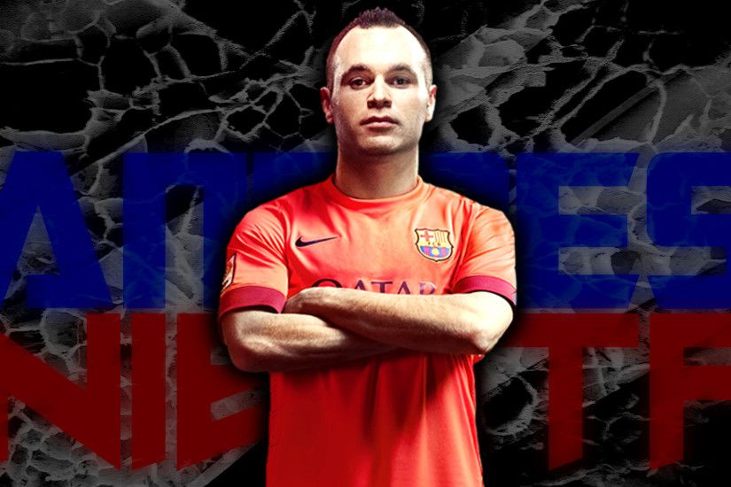 Andres Iniesta Wallpaper by PiaDesigns Andres Iniesta Wallpaper by  PiaDesigns