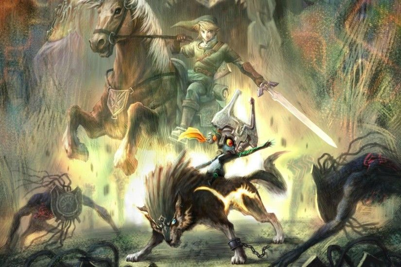 Free Download The Legend Of Zelda Twilight Princess Wallpaper.