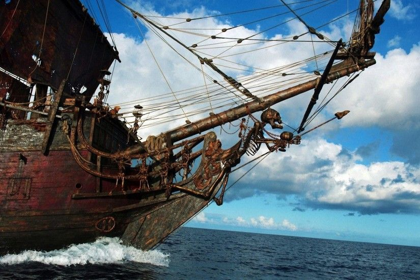 Pirates Of The Caribbean On Stranger Tides Ship wallpaper - 457040