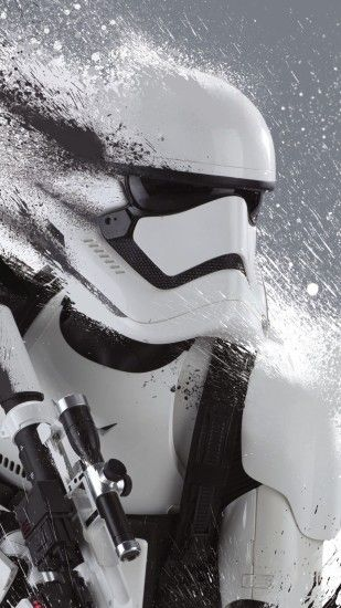 Just a cool First Order Stormtrooper Wallpaper