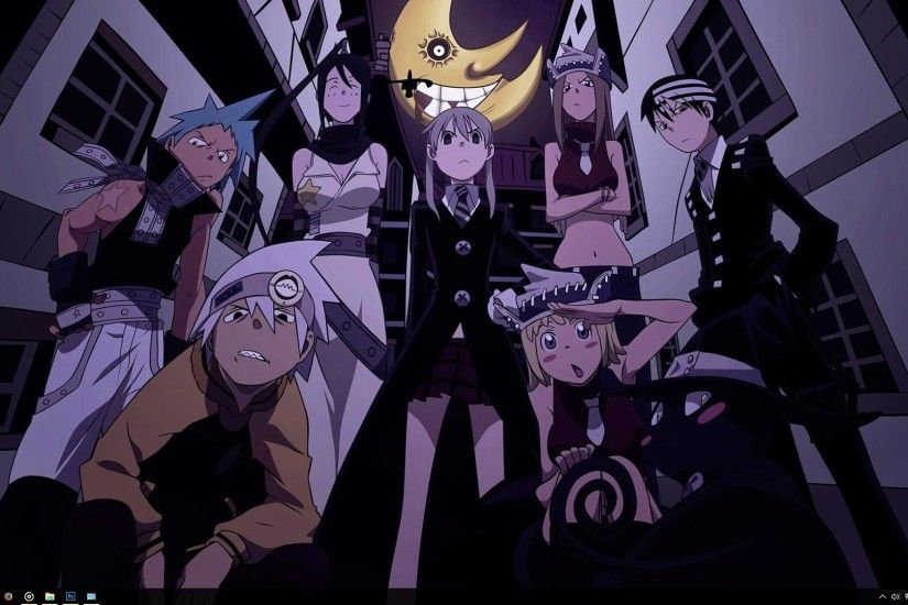 What's in the theme? This theme pack consists of several HD Soul Eater  wallpapers ...