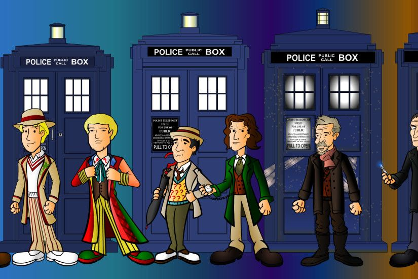 ... The 13 doctors line up by CPD-91