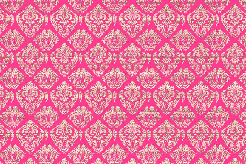 Damask Background Gold, Pink Free Stock Photo - Public Domain Pictures  Fruits of Design Wallpaper ...