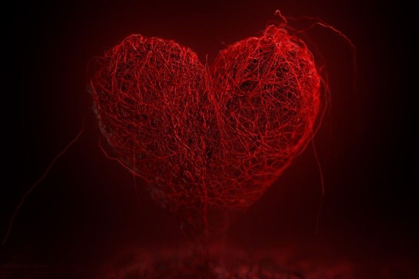 799 Views 323 Download Red Thread Heart Shape Photo