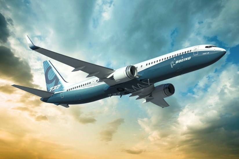 Boeing Airplane Free Download HD Wallpapers