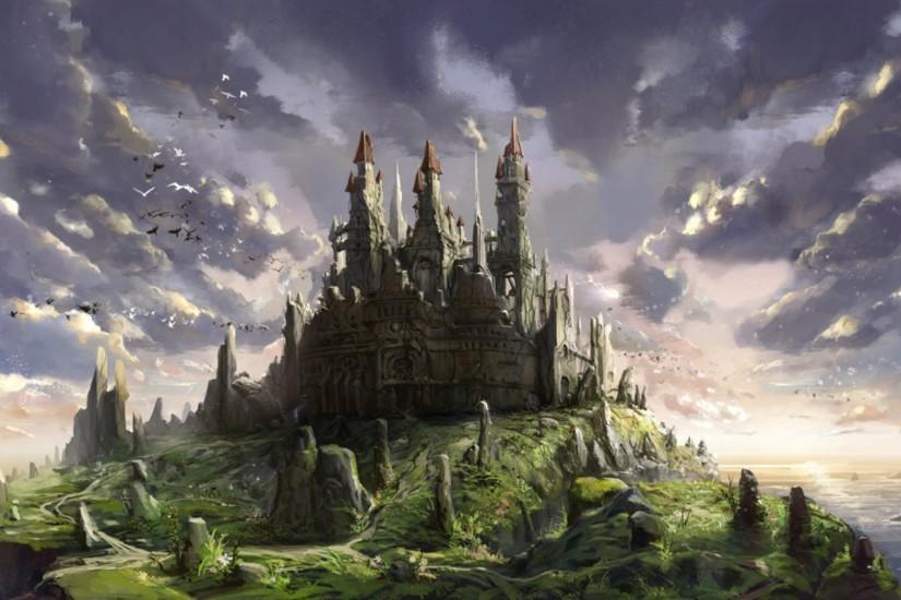 wallpaper castle 1920x1080