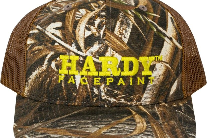 Embroidered HARDY FACEPAINT Realtree Max 5 Hat