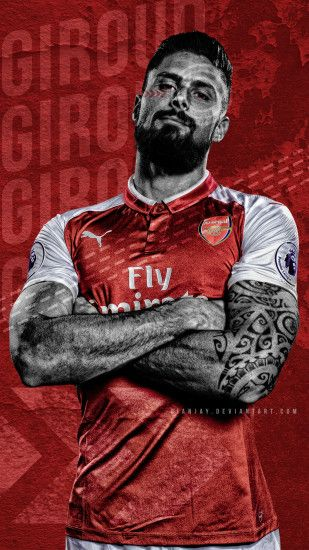 Olivier Giroud Wallpaper by dianjay Olivier Giroud Wallpaper by dianjay