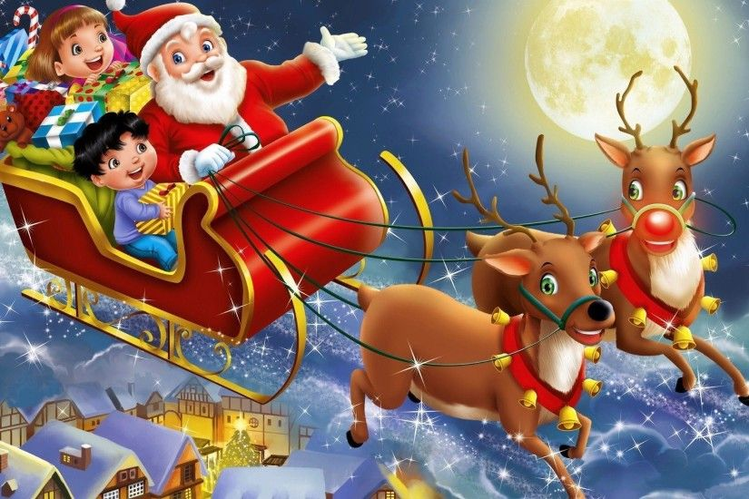 Beautiful Christmas Santa Claus HD Wallpapers, Free Download Santa Claus  Pictures, Santa Desktop Backgrounds, Funny Santa Photos For Christmas event.
