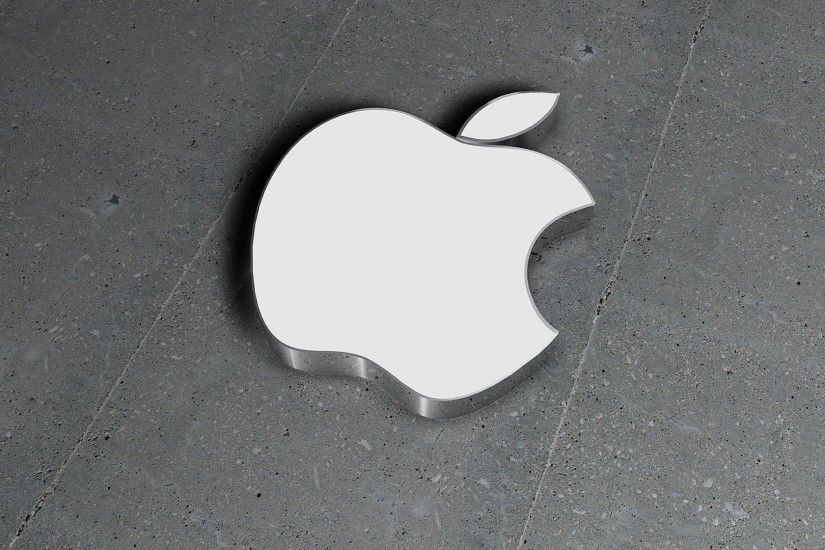 Tags: 3D Logo, Wallpaper, White Apple · Download