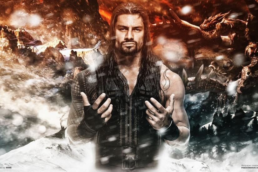 HD Quality Creative Roman Reigns Pictures