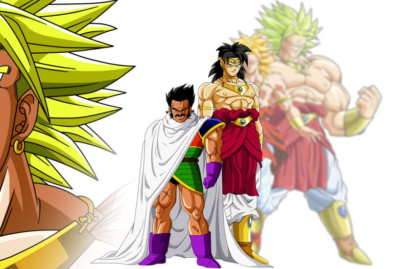 ... Paragus And Broly by Son-Of-Bardock