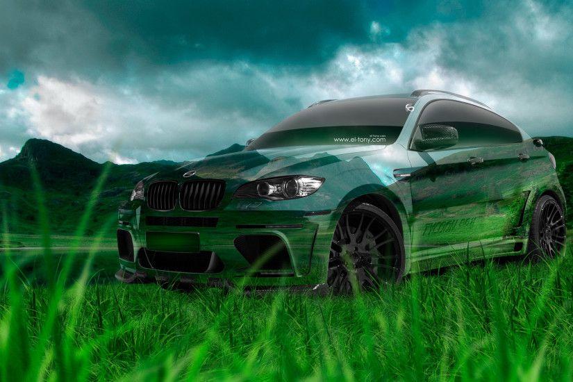 BMW X6 Hamann Tuning Crystal Nature Car 2016 Wallpapers El Tony Cars