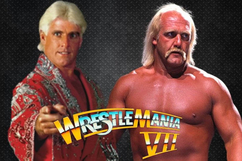 Ric Flair vs Hulk Hogan Wrestlemania 8 #WRESTLEMANIA