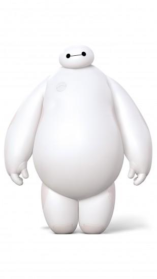 Cute Baymax from Big Hero 6 Wallpaper