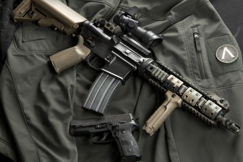 Magpul AR-15 Aimpoint comp m4 2560x1600 Wallpaper | Firearms .