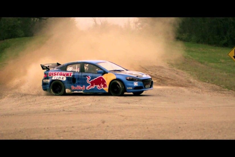 LaFontaine Dodge - Travis Pastrana | 2013 Dodge Dart Rally Car - Saline, MI  - YouTube