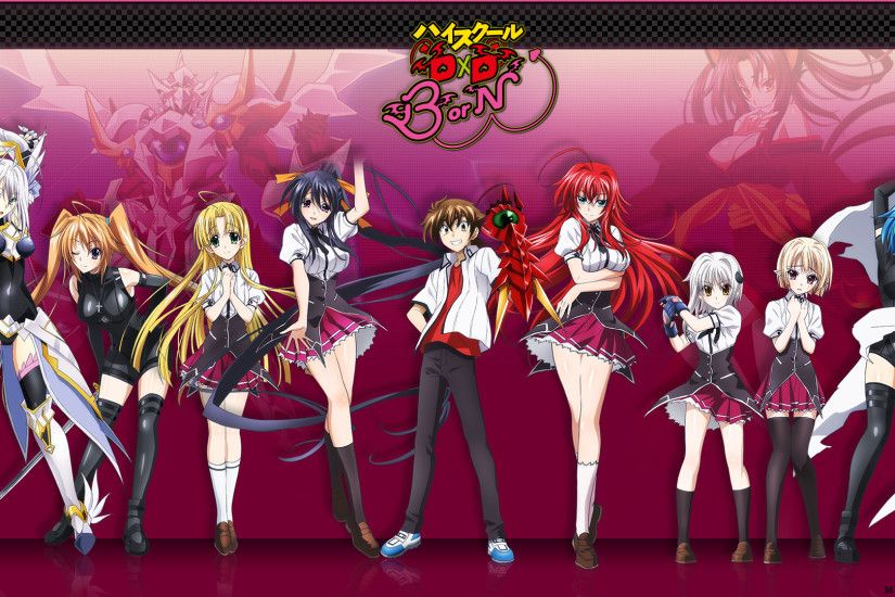 55 High School DxD HD Wallpapers | Backgrounds - Wallpaper Abyss ...