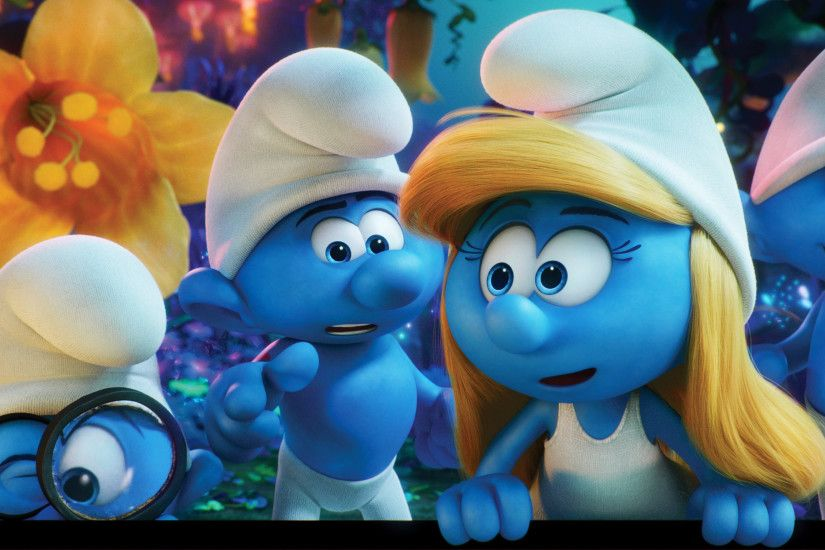 Smurfs The Lost Village 2017 Movie 4K