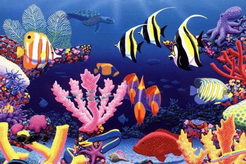 most popular underwater background 1920x1200