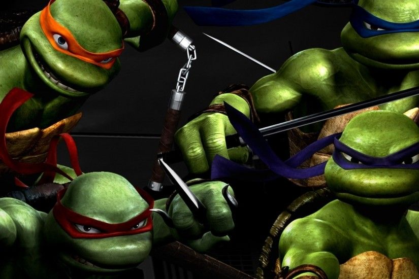 Ninja Turtles animation picture for desktop and wallpaper