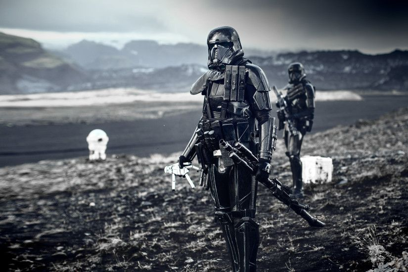 Movie - Rogue One: A Star Wars Story Death Trooper Wallpaper
