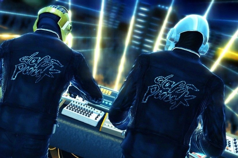 1920x1080 Wallpaper daft punk, name, jackets, helmets, show