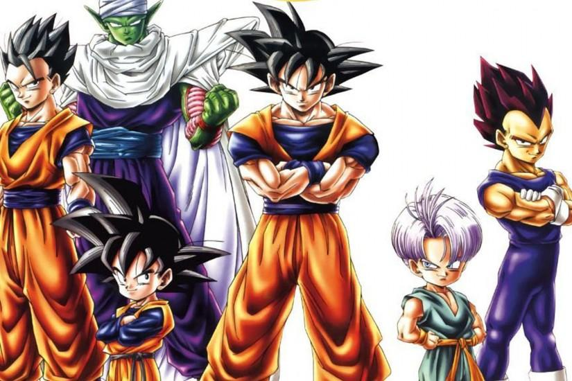 Dragon Ball Z Wallpapers Goku | Wallpapers, Backgrounds, Images, Art ..