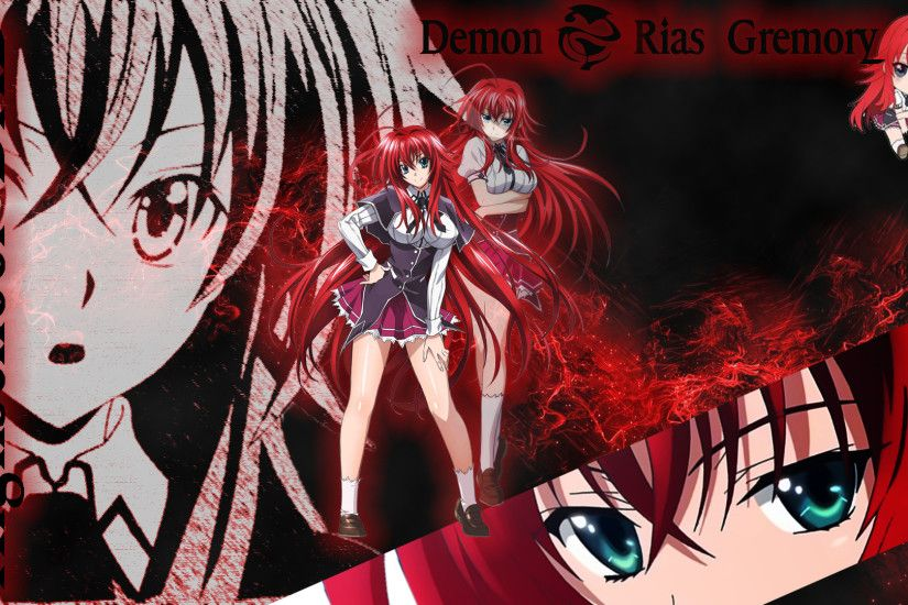 ... Rias Gremory Wallpaper (Highschool DXD) by MoonClanWarrior