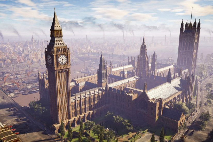 Big Ben, London, England - Assassin's Creed Syndicate 3840x2160 wallpaper