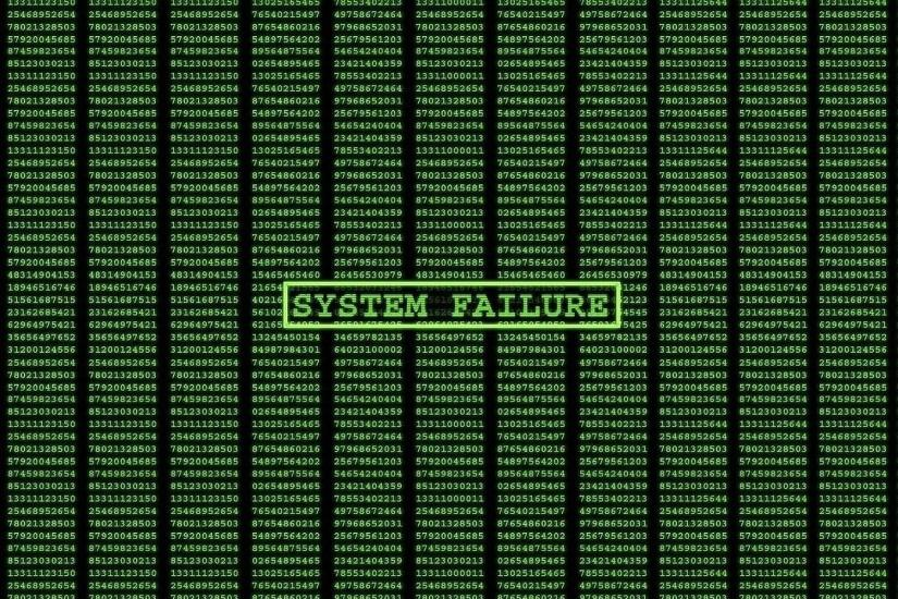 System Failure The Matrix HD Wallpaper.