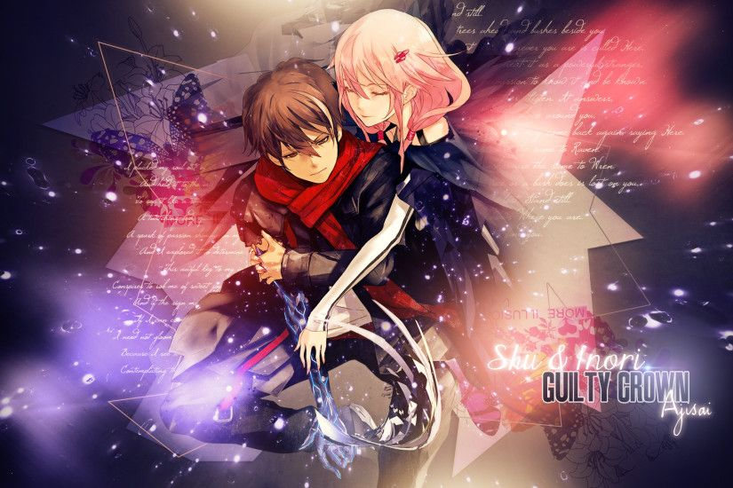 Anime - Guilty Crown Inori Yuzuriha Shu Ouma Wallpaper