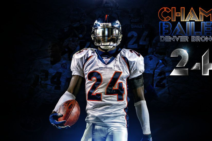 Givens87 3 0 Champ Bailey Denver Broncos Wallpaper by DenverSportsWalls