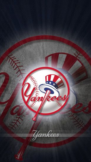 iPhone 5 Wallpaper Wood ny yankees NY Yankees 01.png ...