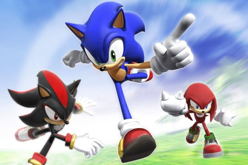 Video Game - Sonic Rivals Knuckles Shadow Knuckles the Echidna Shadow the Hedgehog  Sonic the Hedgehog