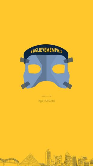 Memphis Grizzlies Mike Conley mask, Believe Memphis, iphone wallpaper  background free graphics download