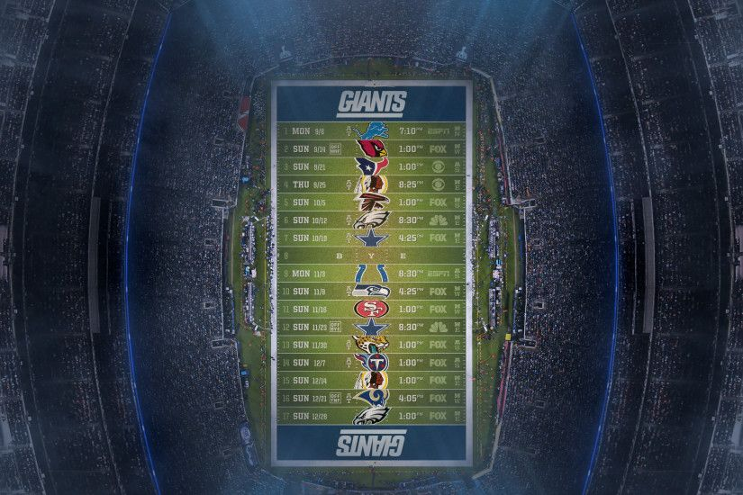 New York Jets Customized Schedule