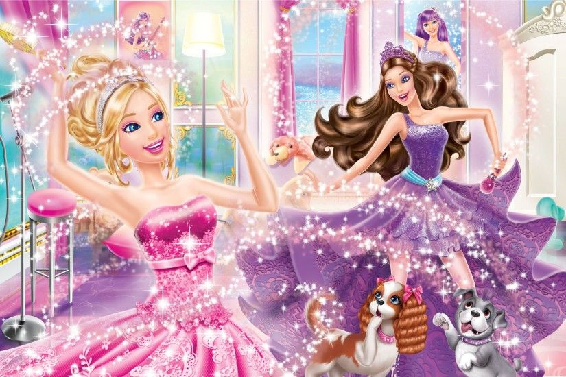 ... Barbie the princess and popstar picture ...