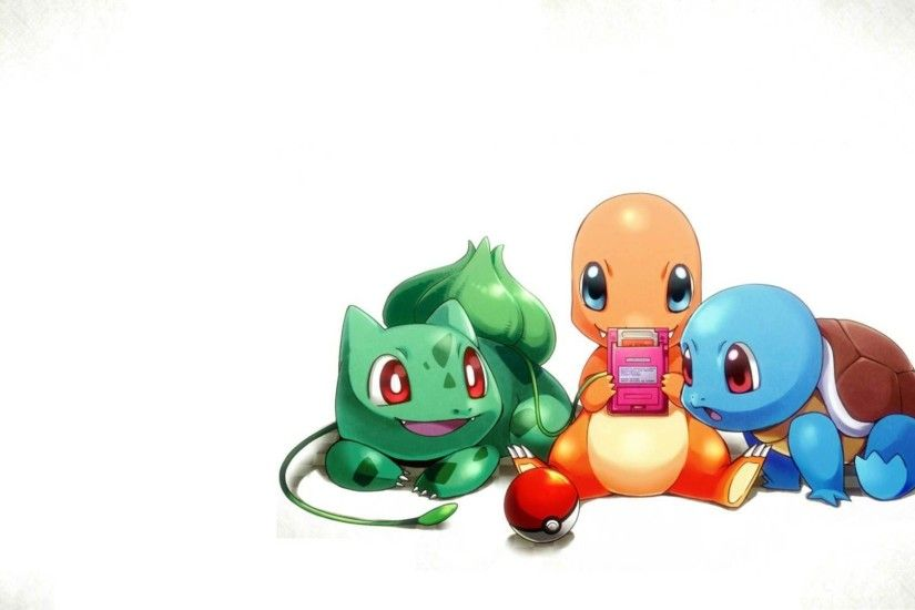 Cute Starter Pokemon Go New Wallpaper Wallpaper