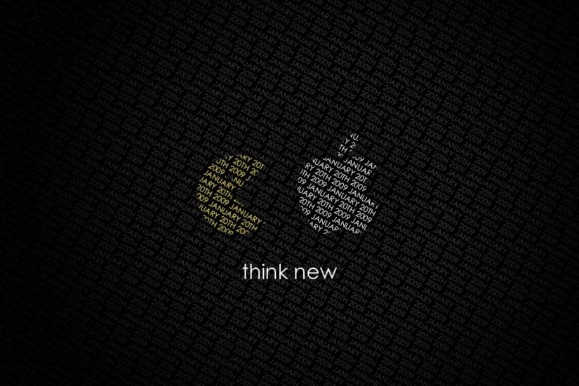 2560x1440 Wallpaper pacman, apple, quote, background