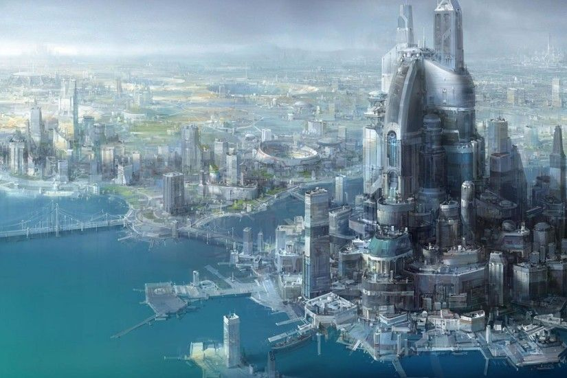 Future City HD Wallpaper | Future City Pictures | Cool Wallpapers