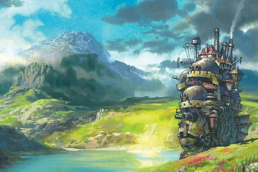 amazing howls moving castle wallpaper 1920x1200 for android 50
