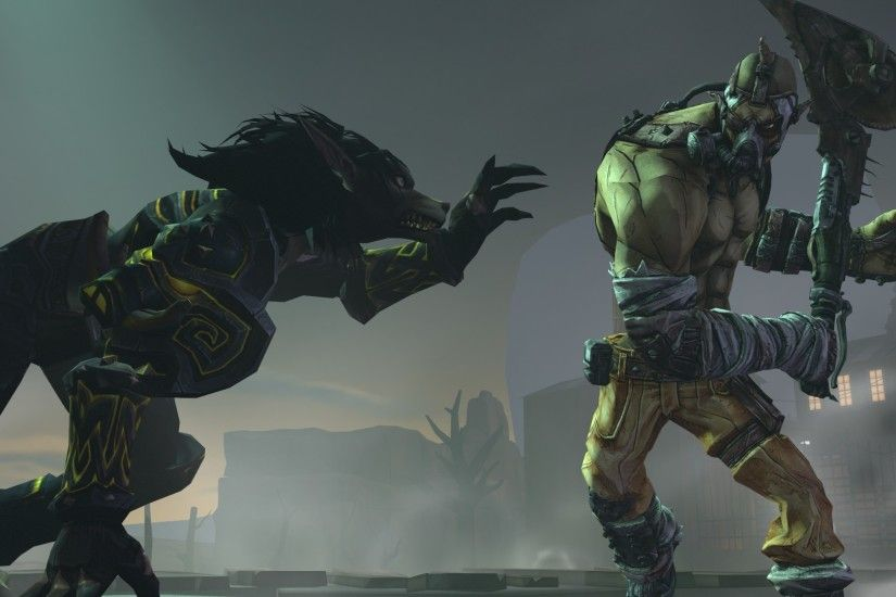 ... Krieg the psycho vs wow Worgen by Halotkl