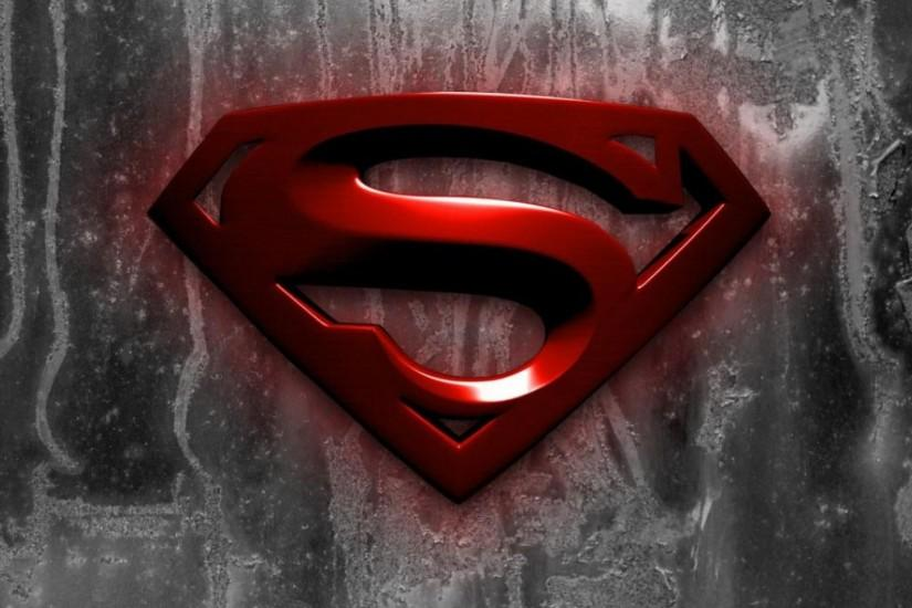 Superman Logo - iPad Wallpaper by arlene