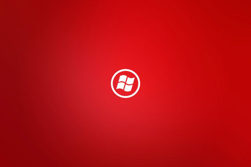 hd pics photos red windows logo wallpapers desktop background wallpaper
