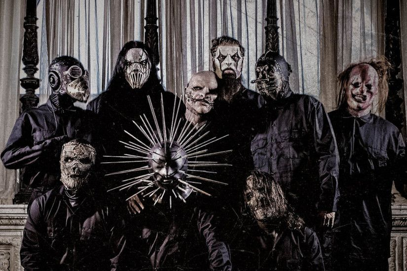 Slipknot, Corey Taylor, Mick Thomson, Craig Jones, James Root, Sid Wilson