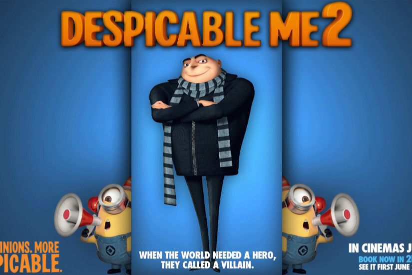 ... Despicable Me 2 (background) by cursedblade1337