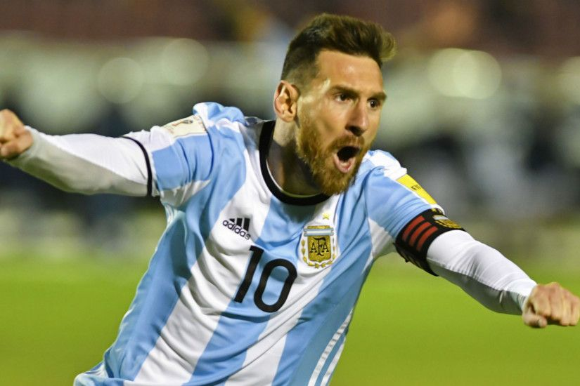 FOW 24 NEWS: Lionel Messi sends Argentina to World Cup 2018 wit.